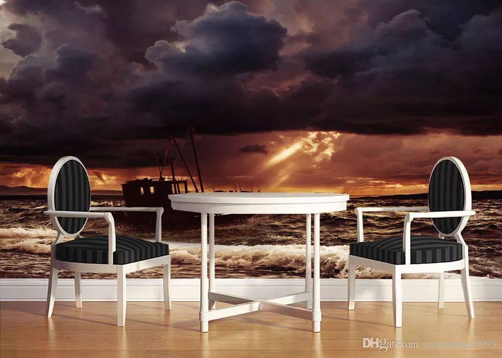 Custom Living Room Bedroom 3d Wallpaper Tv Backdrop Dark Clouds Wall Papers Home Decor European Style Wallpaper Mural Hd High Quality Wallpapers Hd High Resolution Wallpapers From Yeyueman9999 10 46 Dhgate Com