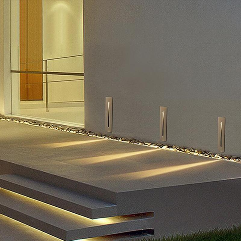 2021 recessed 3w led stair light