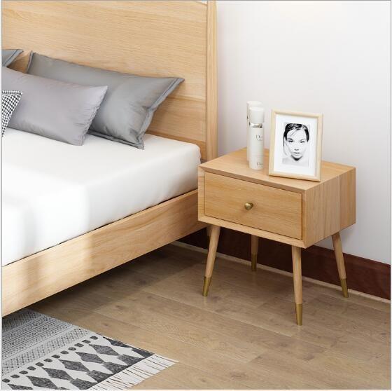 acheter armoires de rangement de chambre a coucher en bois massif nordique armoires de rangement simples modernes de reception armoire de chevet