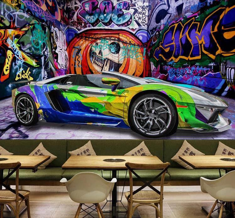 Wallpaper has made a comeback so why not go bold this fall with a statement wallpaper. Custom Photo Wallpaper 3d Retro Nostalgic European 3d Camouflage Car Wallpaper Living Room Dining Room Wallpaper Sticker Mural From Lcwallpapers 8 55 Dhgate Com