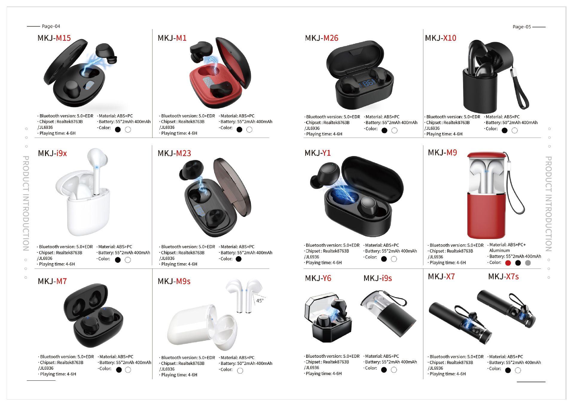 I9s TWS Bluetooth Headset 5.0 Dual Ears Really Wireless