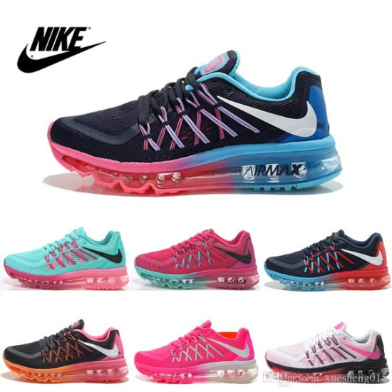 new style 4a3e0 bf5f8 Nike Women s FLYKNIT Air Max 2015 Running Shoes 100% Original Womens  running shoes Cheap FLYKNIT Air Max 2015 Best Tennis Jogging Shoes