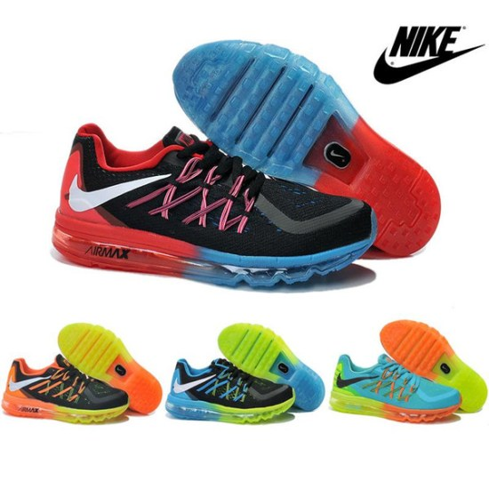 05290bf27fb2 Nike Air Max 2015 Children Shoes Boys Girls Running Shoes Baby Sneakers  Cute Kids 100% Original Size 11C-3Y Sport Shoes Free Shipping