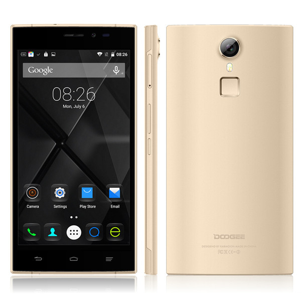 Original Doogee F5 4G FDD LTE MTK6753 Octa Core 5.5'' IPS 16GB 3GB 13.0MP Camera Micro Sim Dual Sim Mobile Phone