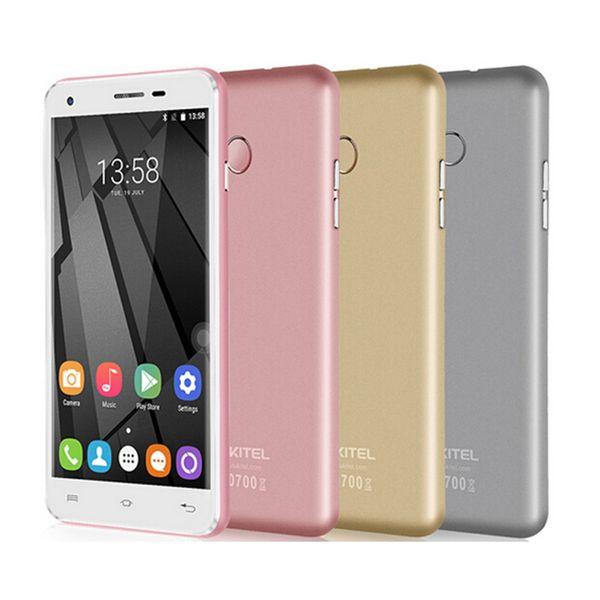 OUKITEL U7 Plus Smartphone MT6737 Quad Core 4G Fingerprint 2G RAM 16G ROM Dual Camera Android 6.0 Unlocked Mobile Phone