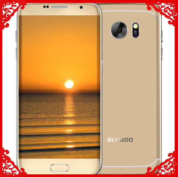 Bluboo Edge 4G Mobile Phone Quad Core 5.5 Inch Cell Phone 2G RAM 16G ROM Fingerprint Smartphone free shipping