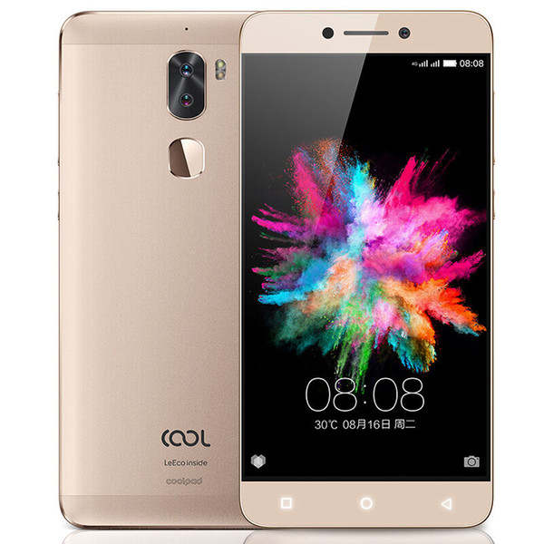 "Original Letv Cool 1 Dual Leeco Coolpad Cool1 Snapdragon 652 Phone 3GB/4GB RAM 32GB/64GB 5.5"" MP13*2+8.0 screen 1920*1080 4060mAh ID"