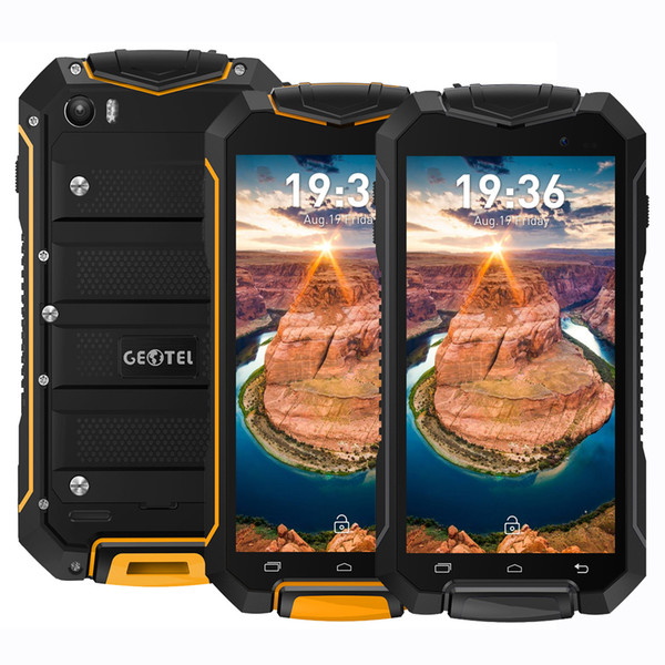 Geotel A1 Waterproof 3G Smart Phone 4.5Inch IP67 Gorilla Glass Screen 1G RAM 8G ROM Android7.0 Quad Core 8.0MP Camera
