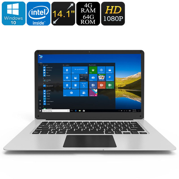 Jumper EZbook 3 Laptop Windows 10 14,1 pouces 1080p HD Notebook 4 Go RAM 64 Go eMMC