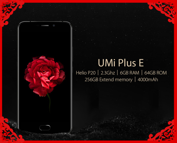 UMI Plus E 4G Smartphone 5.5inch Octa Core Fingerprint 6GB RAM 64GB ROM Mobile Phones Cellphone free shipping