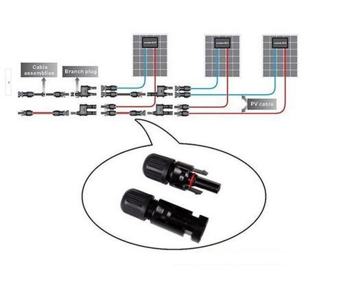 MC4 Waterproof Connector, MC4 Connector, PV Connectors