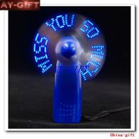 Programmable Flashing Led Message Fan ,Light Up Fans,Led ...