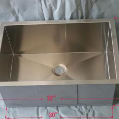 Square Kitchen Sink Remodel Home Depot 2019 32 Stainless Steel Single Bowl Undermount Dhgate Promotion Products Free Shipping Retangular