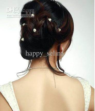 2019 240picrhinestone hair accessories diamond pearl hair pins bride hair grips from happy selina 43 0 dhgate com