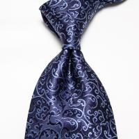 Neckties Navy Men's Ties Wedding Ties Striped Blue Ties ...