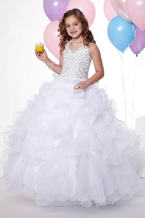 wedding dress for girls age 10