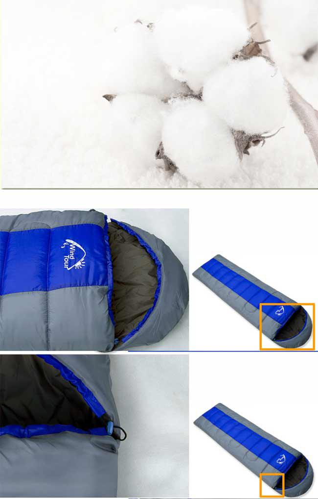New Warm Outdoor Sleeping Bag Tent Camping Travel 85x295
