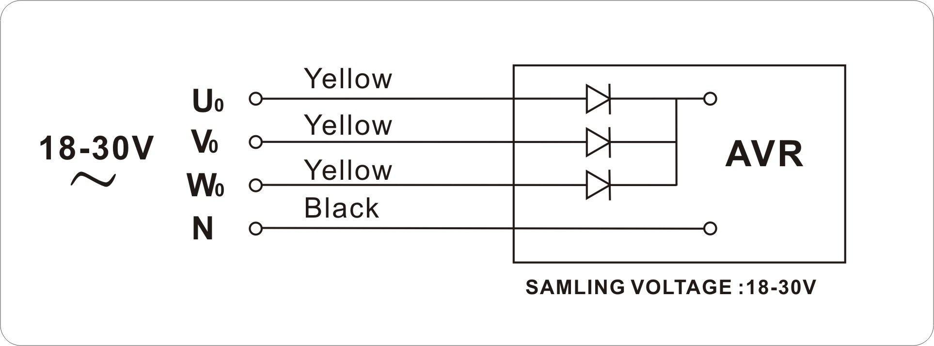 hight resolution of yamada 5 7kw three phase avr for generator three phase generator 5kw avr diagram 5kw avr diagram