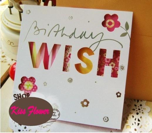 Sweet Wish Lovely For You Happy Birthday Gift Card