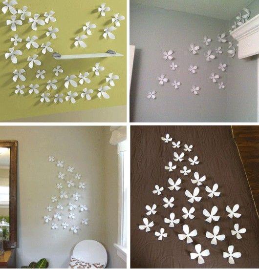 s m l acrylic crystal d flower sofa wall sticker pop up house