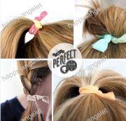 girls' elastic hair ties bracelet