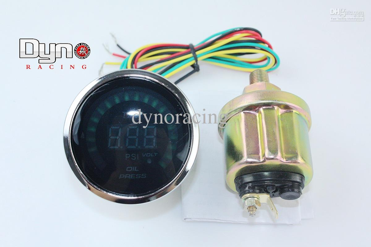 glowshift oil pressure gauge wiring diagram leviton smart switch 3 way 2017 2 2inches 52mm electrical auto digital wideband
