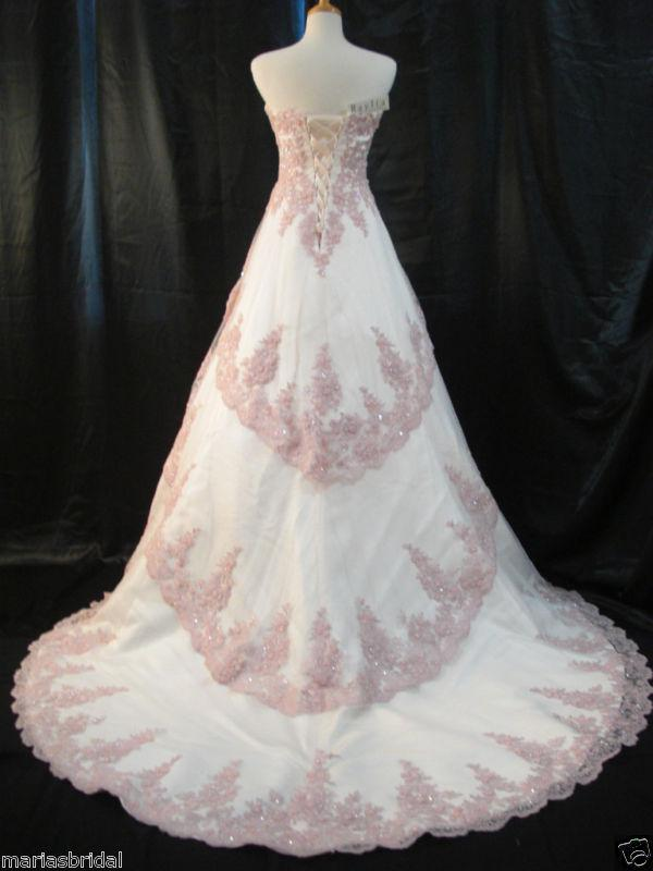 Wedding Dress Light Pink Mauve Classic Wedding Dresses Dress For A Wedding From Mndf12 11763