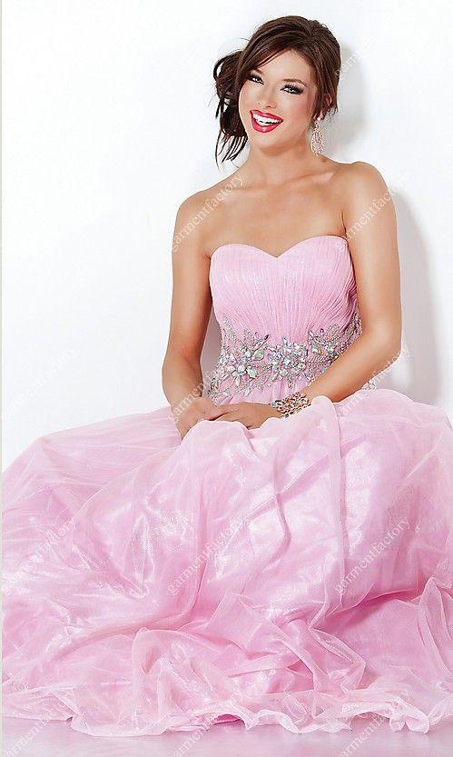 Fantastic Pink Princess Prom Dress Component - Wedding Dresses ...