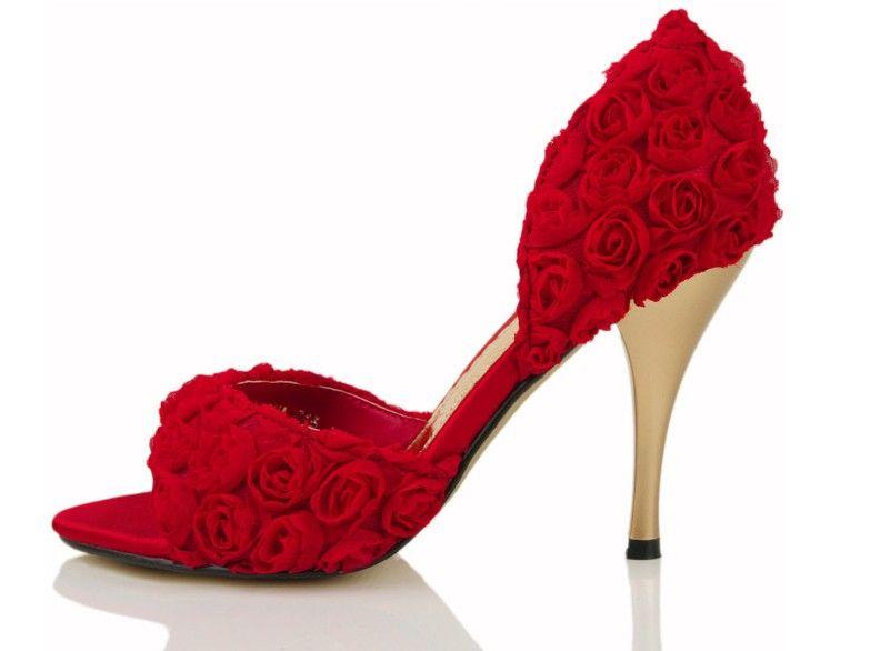 Bridal Sandals Low Heel
