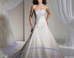 Blue And White Wedding Dresses Dhgate Com