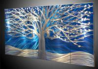Metal Tree MODERN ART ABSTRTACT ART WALL OIL PAINTING ON ...