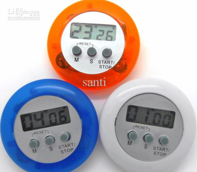 digital kitchen timers stainless steel knives 2019 novelty timer helper mini lcd count down clip alarm