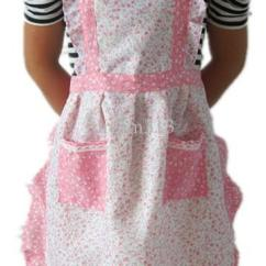 Kitchen Apron For Kids Ikea Cupboards New Home Pastoral Style Craft Commercial ...