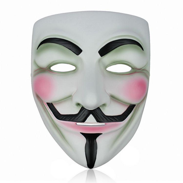 EMS V Mask Vendetta Party Mask For Halloween Party High