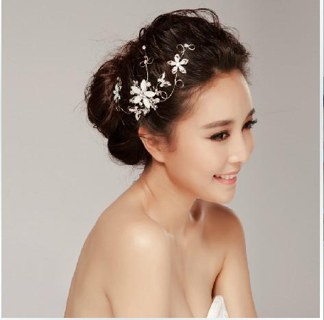 hot sale wedding accessories bride silver hair accessories bridal online with 42 29 piece on lucydong0424 s store dhgate com