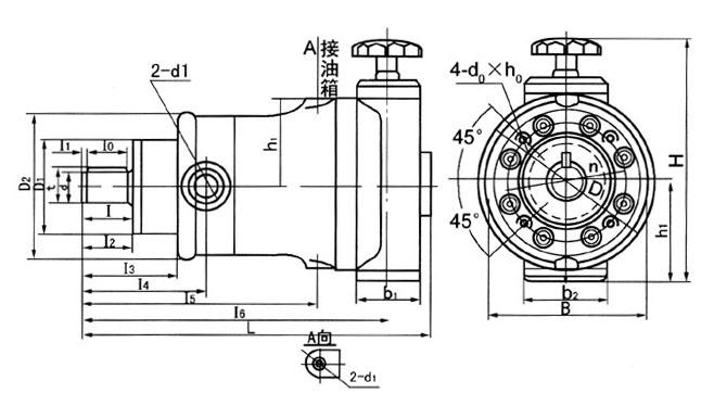 25SCY14-1B Manual Variable Axial Piston Pump High-pressure