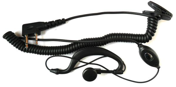 Walkie Talkie Earpiece FOR ICOM Radio IC V80 IC V82 IC V8