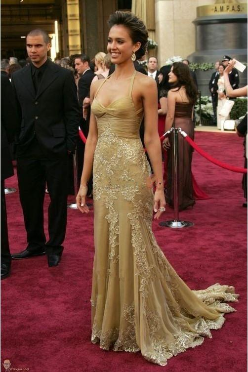 Image result for celebrities with gold dress