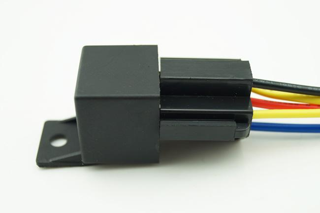 12v 30 40a 5pin Automotive Relays W Dual Socket 5 Wire Wiring