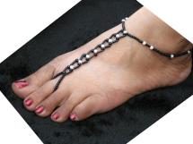 Chain Anklet with Toe Ring