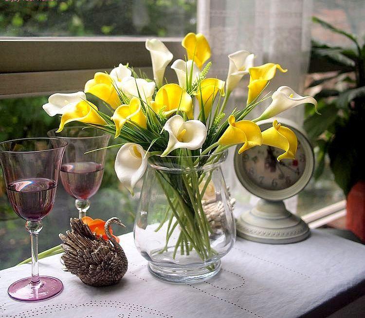 Calla Wedding Lily Decorations