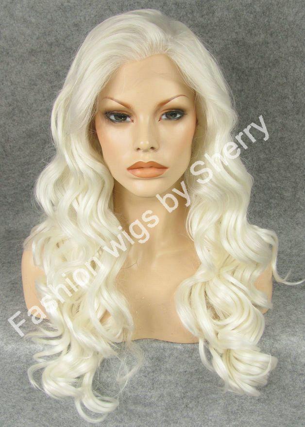Hot Sale S07 24 Long 1001 White Blonde Heavy Density