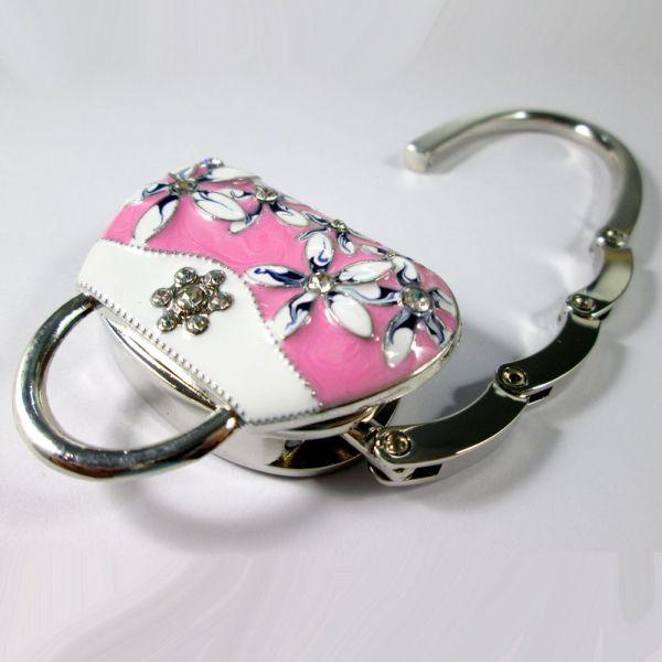Purse Hook Hanger Handbag Table Folding
