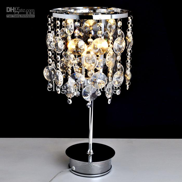Crystal Table Lamp For Bedroom