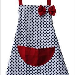 Cute Kitchen Aprons Beach Cabinets Wholesale Special Korean Version Of The Canvas Stylish Apron Dot Overalls Personalized Half From Andy2145