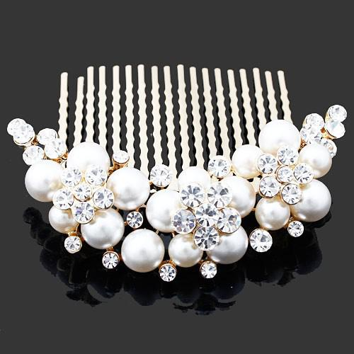 pearl hair comb wedding hair jewelry bride accessories fs 012 hairwear bridal jewelry 2015 wedding
