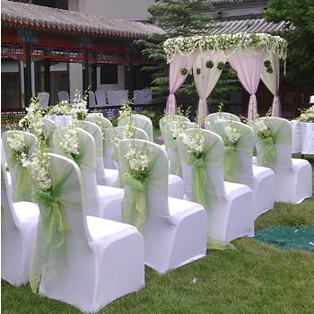 Beautiful 18 Multi Color Wedding Decoration Tulle Chair