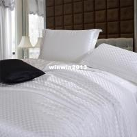 Pure White Bedding Sets,brief Solid Color Silk Satin Bed