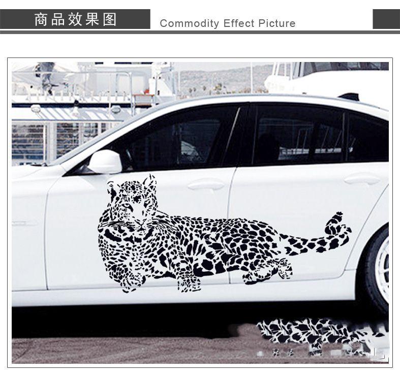 Car stickers design for black car