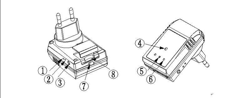 1920X1080P Spy Mini Adaptor Multi Function Charger Hidden